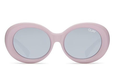 Quay Mess Around Lilac / Silver Sunglasses
