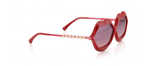 Wildfox - Lip Service Red Sunglasses