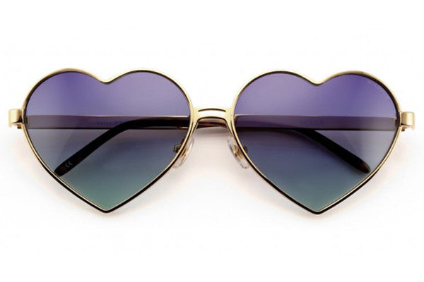 Wildfox - Lolita Gold & Multi Sunglasses