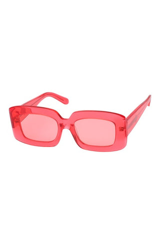 Karen Walker - Loveville Watermelon Sunglasses / Pink Lenses