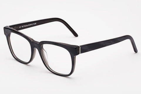 Super - People Optical Black Horn Rx Glasses