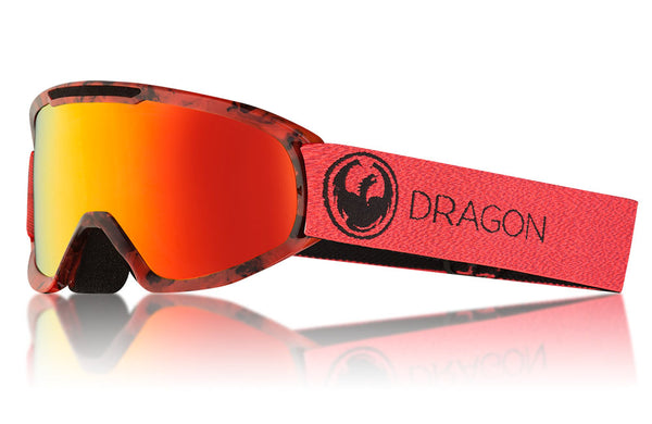 Dragon - DX2 Mill Snow Goggles / Lumalens Red Ion + Lumalens Rose Lenses