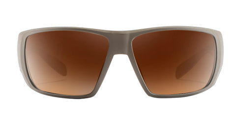 Native - Sightcaster Desert Tan Sunglasses / Brown Lenses