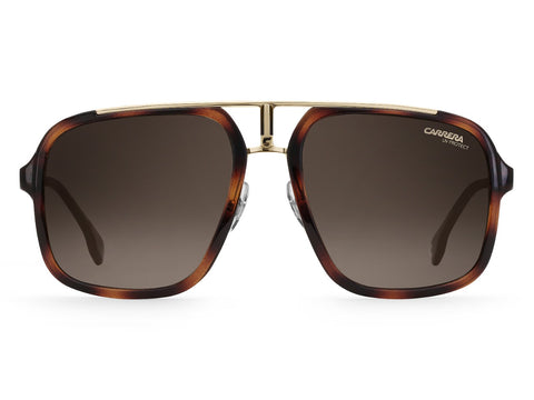 Carrera - 1004 Havana Gold Sunglasses / Brown Gradient Lenses