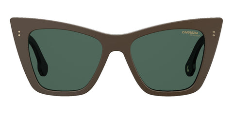 Carrera - 1009 Beige Sunglasses / Green Lenses