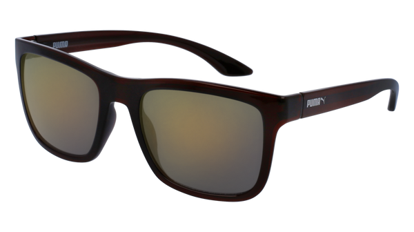 Puma - PU0071S Brown Sunglasses / Bronze Lenses