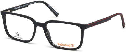 Timberland - TB1621 55mm Matte Black Eyeglasses / Demo Lenses