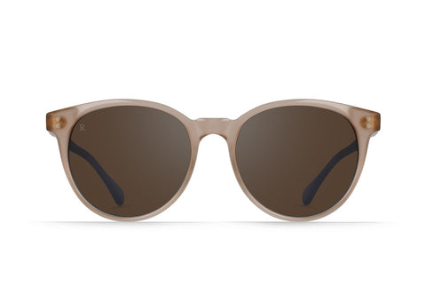 Raen - Norie Rose Sunglasses / Silver Mirror Lenses