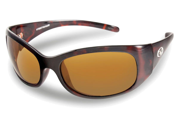 Flying Fisherman - Madrid 7398 Tortoise Sunglasses, Amber Lenses