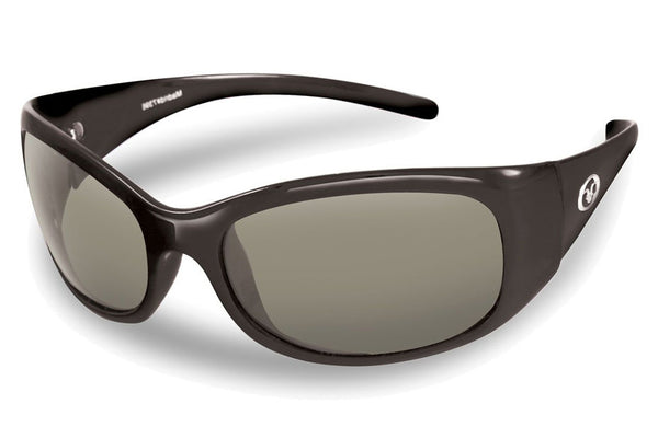 Flying Fisherman - Madrid 7398 Matte Black Sunglasses, Smoke Lenses