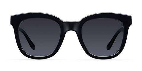 Meller - Mahé 55mm All Black Sunglasses / Black Polarized Lenses