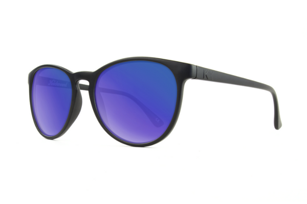 Knockaround - Mai Tais Black Sunglasses, Moonshine Lenses