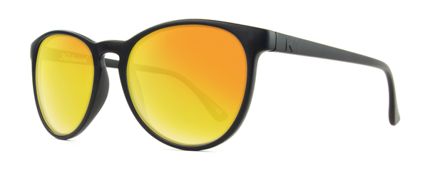 Knockaround - Mai Tais Black Sunglasses, Sunset Lenses