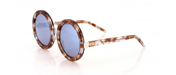Wildfox - Malibu Deluxe Coconut & Antique Silver Sunglasses