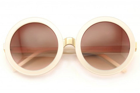 Wildfox - Malibu Pearl White Sunglasses