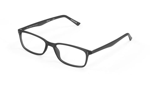 Scojo New York - Gels Manhattan Black Reader Eyeglasses / +2.25 Lenses