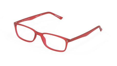 Scojo New York - Gels Manhattan Red Reader Eyeglasses / +2.00 Lenses