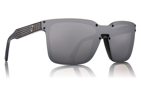 Dragon - Mansfield Matte Black / Silver Ion Sunglasses