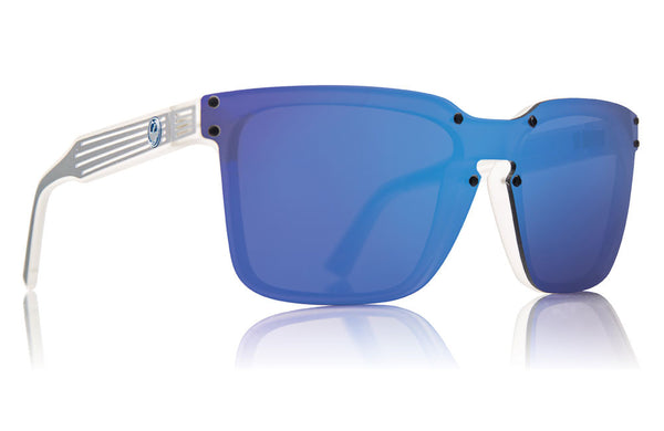 Dragon - Mansfield Matte Clear / Blue Ion Sunglasses