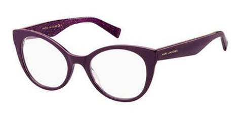 Marc Jacobs - Marc 238 Violet Purple Snake Eyeglasses / Demo Lenses