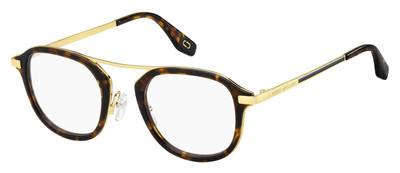 Marc Jacobs - Marc 389 Brown Havana Eyeglasses / Demo Lenses