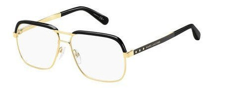 Marc Jacobs - Mj 632 Gold Black Eyeglasses / Demo Lenses