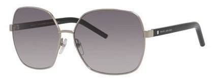 Marc Jacobs - Marc 65 S Palladium Black Sunglasses / Gray Gradient Lenses