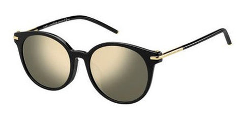 Marc Jacobs - Marc 87 F S Black Sunglasses / Gray Ivory Mirror Lenses