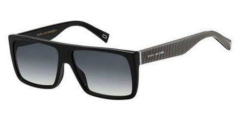 Marc Jacobs - Marc Icon 096 S Black Sunglasses / Dark Gray Gradient Lenses