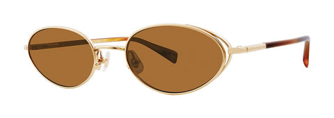 Seraphin - Marigold Gold Sunglasses / Gold Lenses
