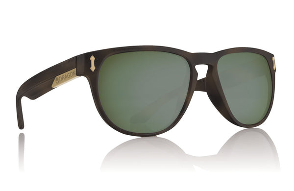 Dragon - Marquis Matte Tort / Green G15 Performance Polar Sunglasses
