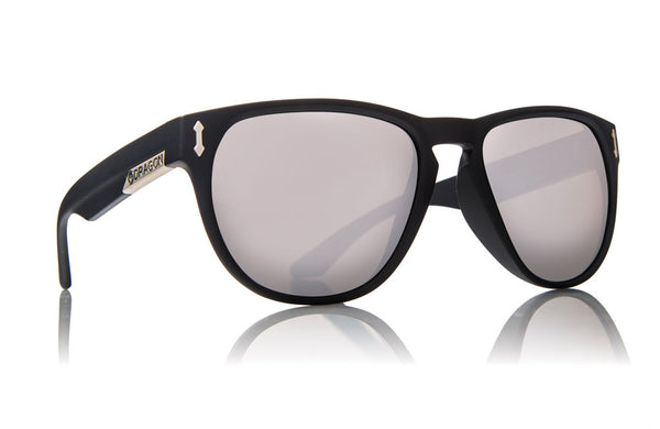 Dragon - Marquis Matte Black / Silver Ion Sunglasses