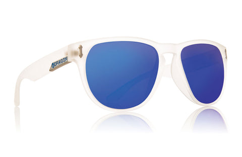 Dragon - Marquis Matte Clear / Blue Ion Sunglasses