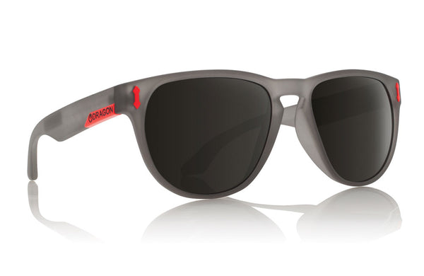 Dragon - Marquis Matte Dark Grey / Grey Sunglasses