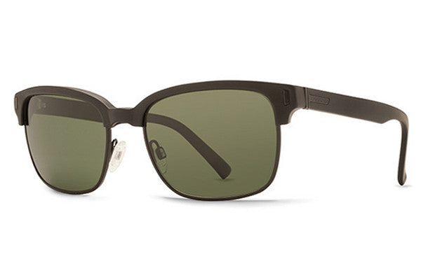 VonZipper - Mayfield Black Satin BKS Sunglasses, Grey Lenses