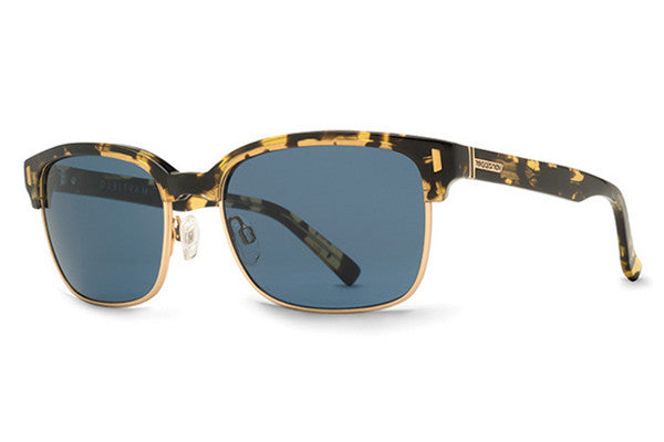 VonZipper - Mayfield Blotchy Tort TBV Sunglasses, Navy Lenses