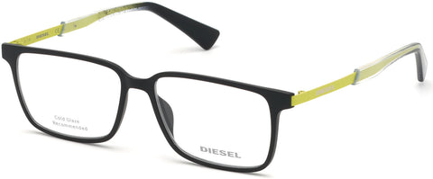 Diesel - DL5290 Matte Black Eyeglasses / Demo Lenses