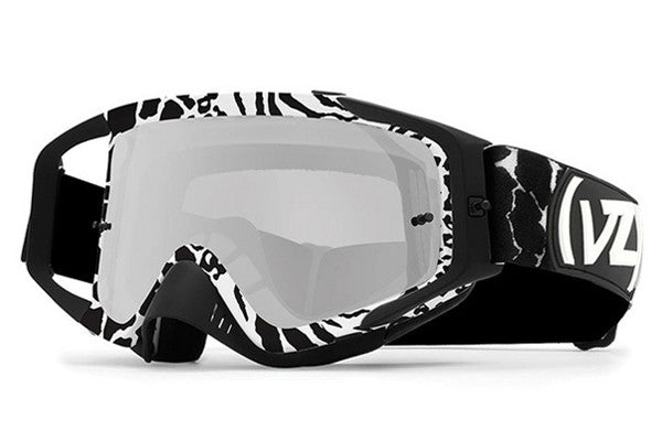 VonZipper - Porkchop Party Animals Black & White PAK Moto Goggles