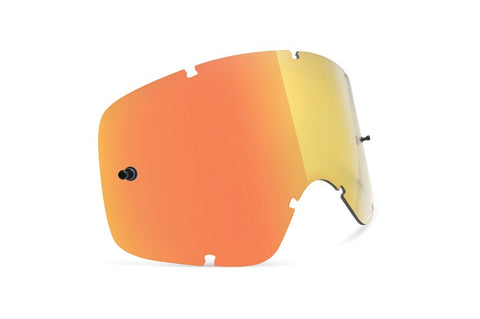 VonZipper - Bushwick XT Clear Orange Chrome MX Goggle Replacement Lens