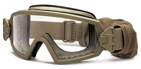 Smith - Outside The Wire Tan 499 Snow Goggles / Clear + Grey Lenses