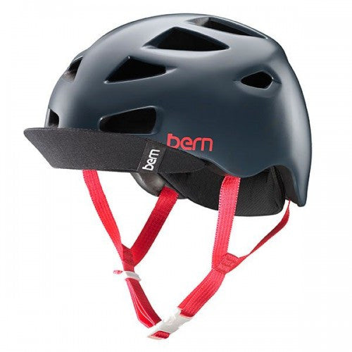 Bern - Melrose Satin Smoke Grey Bike Helmet