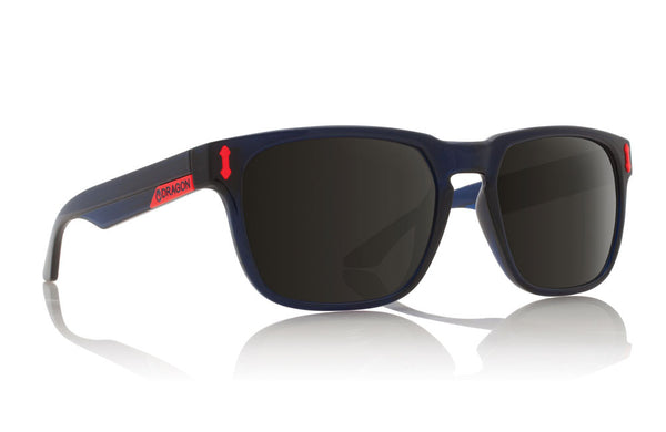 Dragon Monarch Crystal Navy / Grey Sunglasses