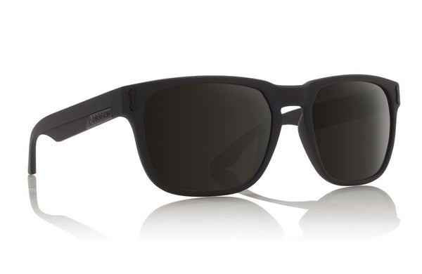 Dragon - Monarch Matte Black / Grey Sunglasses