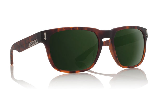 Dragon - Monarch Matte Tortoise / Green G15 Sunglasses