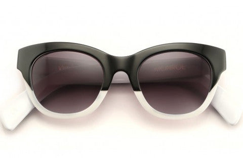 Wildfox - Monroe Black & White Sunglasses