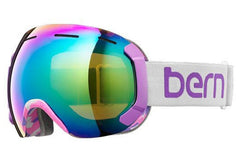 Bern - Monroe Grey / Purple Goggles, Green / Blue Light Mirror Lenses