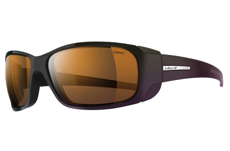 Julbo - MonteBianco Black Sunglasses, Camel Lenses