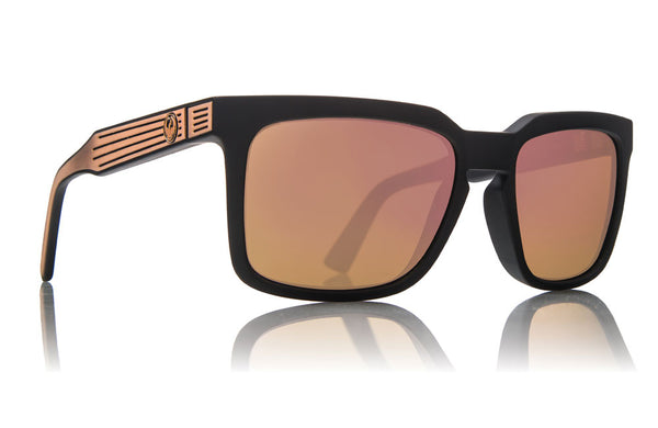 Dragon - Mr. Blonde Matte Black / Rose Gold Ion Sunglasses