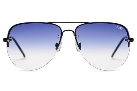 Quay Muse Fade Black / Navy Sunglasses