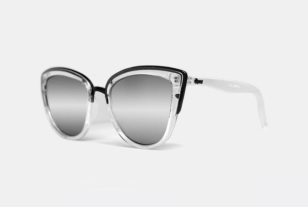 Quay My Girl Clear / Silver Sunglasses